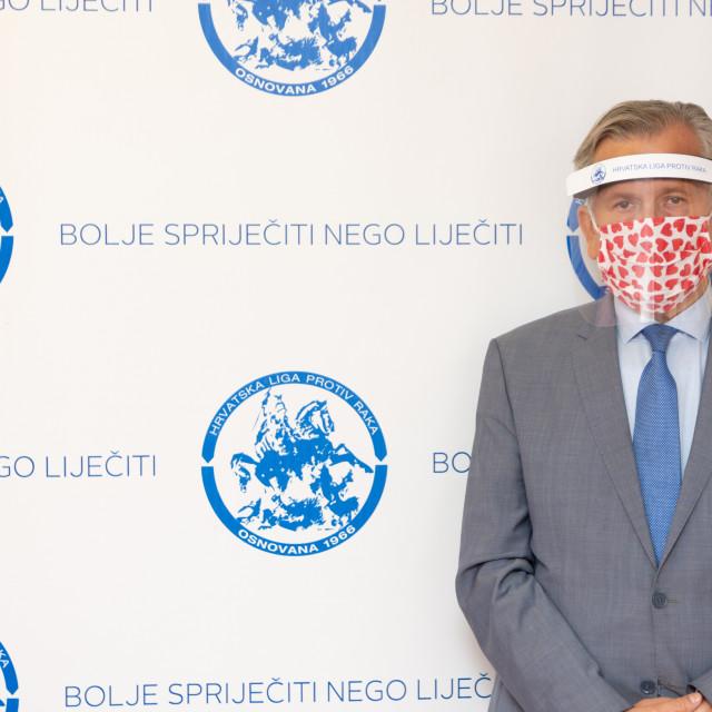 Prof. dr. Damir Eljuga, predsjednik Hrvatske lige protiv raka