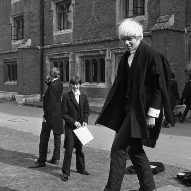 Boris Johnson tijekom školovanja