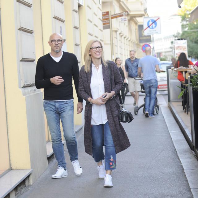 Mirna Zidarić i suprug Zoran