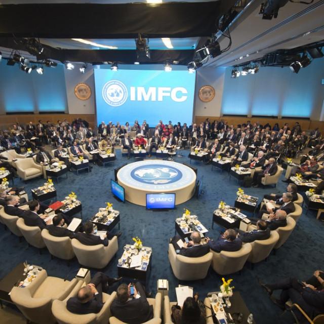 Ilustracija, sastanak MMF-a i Svjetske banke