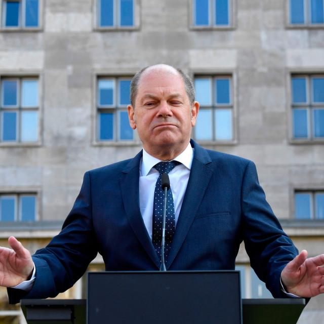 Njemački ministar financija Olaf Scholz (SPD)