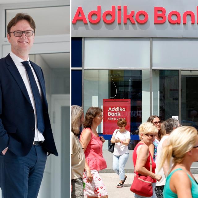 Mario Žižek, predsjednik Uprave Addiko banka, ilustracija