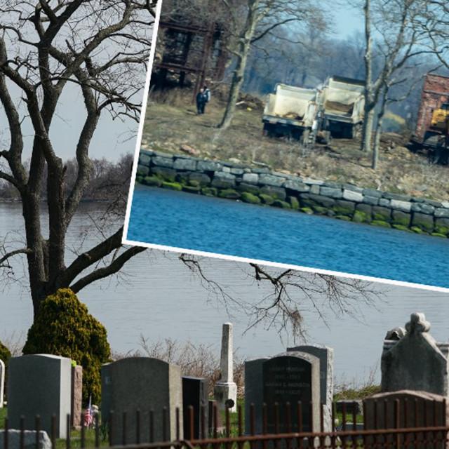 Otok Hart i tima zadužen za iskapanje masovnih grobnica