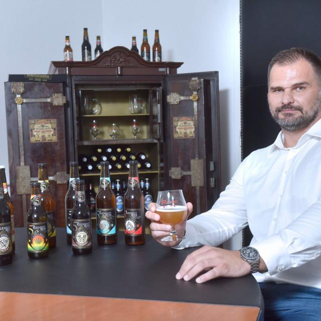 Direktor Daruvarske pivovare Siniša Lukač
