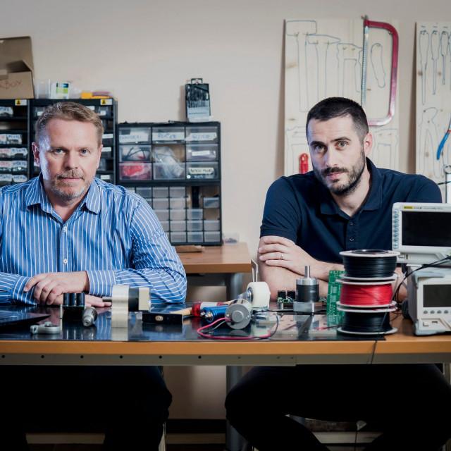Matija Kopić i Milan Račić, osnivači i šefovi startupa Gideon Brothers