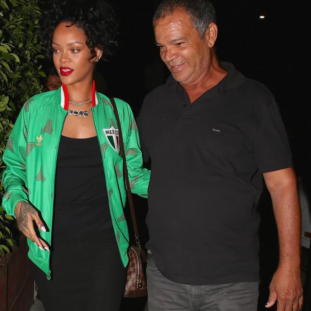 Rihanna s ocem Ronaldom
