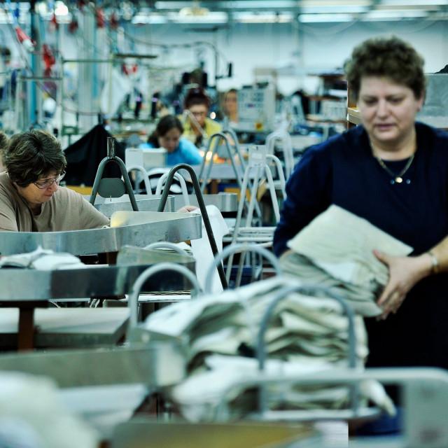 Varaždinska tekstilna industrija Varteks,pogon