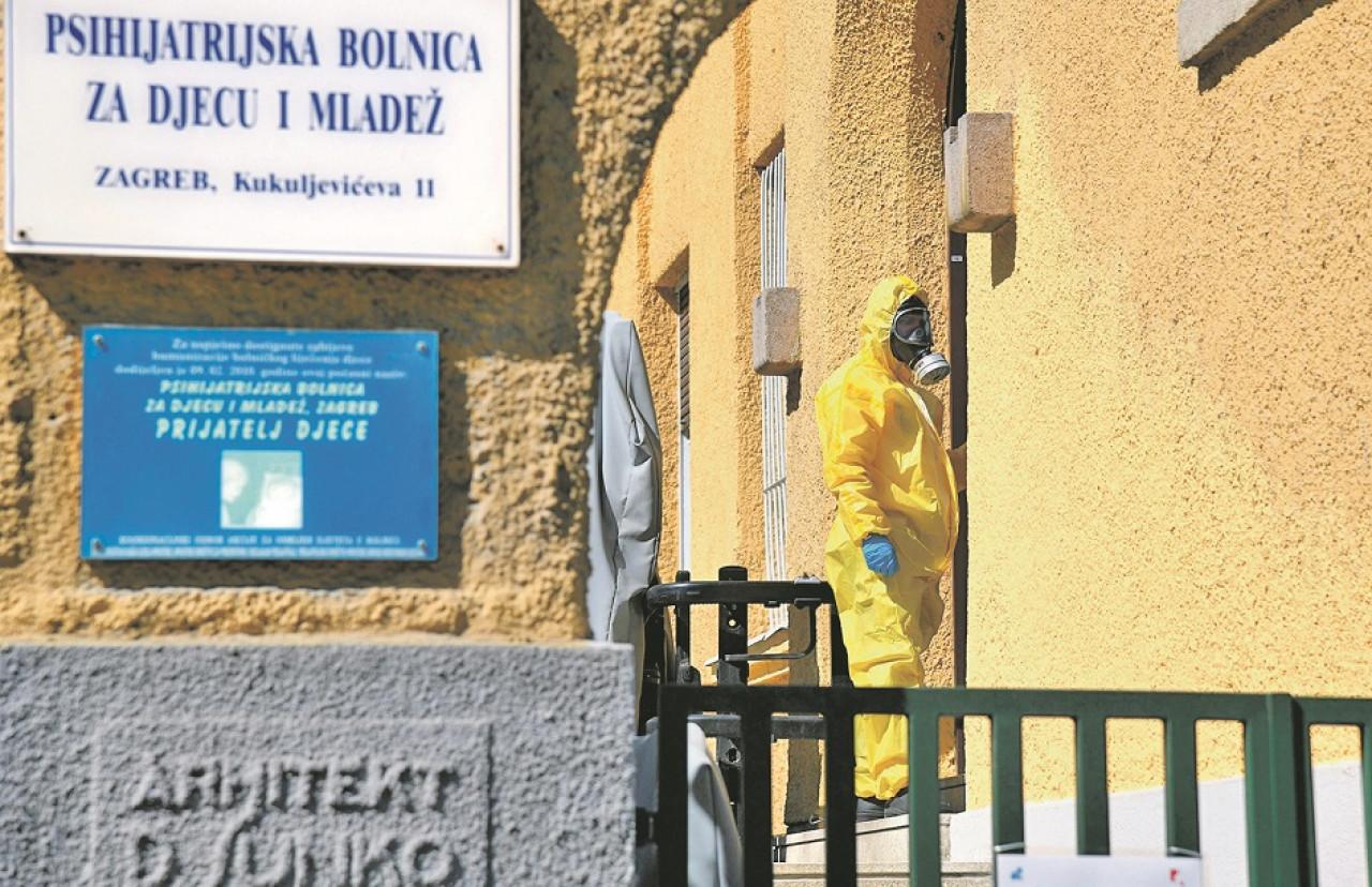 Jutarnji List U Psihijatrijskoj Bolnici Za Djecu U Zagrebu Pet
