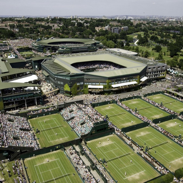 Wimbledon, The All England Tennis and Croquet Club