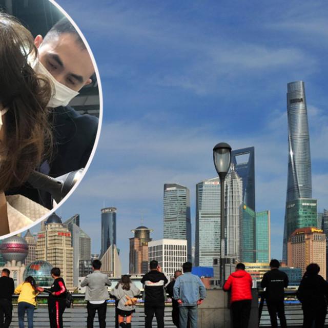 Branka Prica i pogled na Šangaj