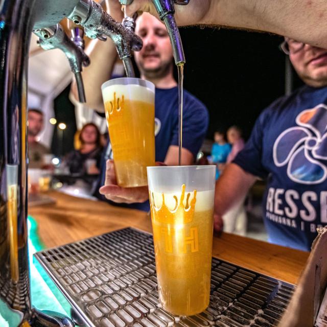 Pivo, ilustracija