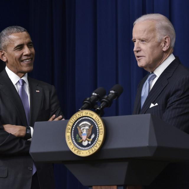 Bivši američki predsjednik Barack Obama i trenutni kandidat za predsjednika Joe Biden