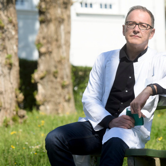 Dr. Ante Silić, psihijatar i specijalist biološke psihijatrije na Klinici za psihijatriju KBC Sestre milosrdnice Zagreb