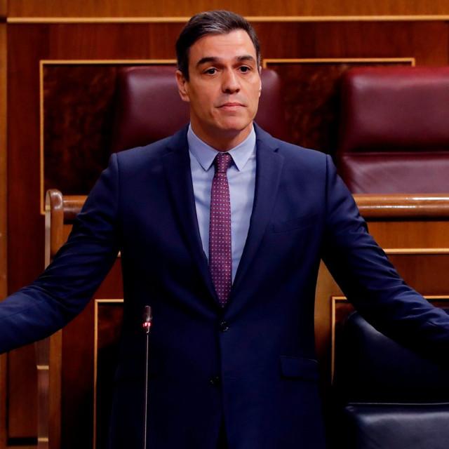 Španjolski premijer Pedro Sánchez