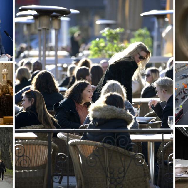 Prizori iz Švedske krajem ožujka