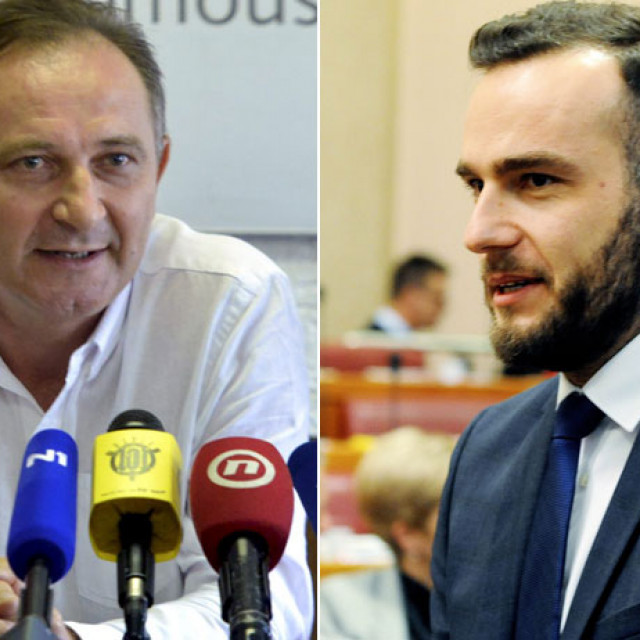 Mladen Novosel i Josip Aladrović