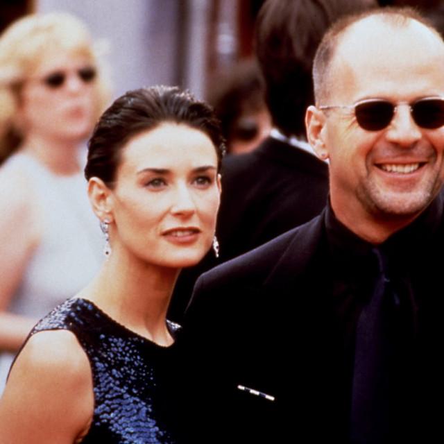 Demi Moore i Bruce Willis u braku su proveli 13 godina tijekom kojih su dobili tri djevojčice