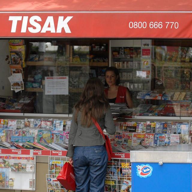 Kiosk Tiska, ilustracija