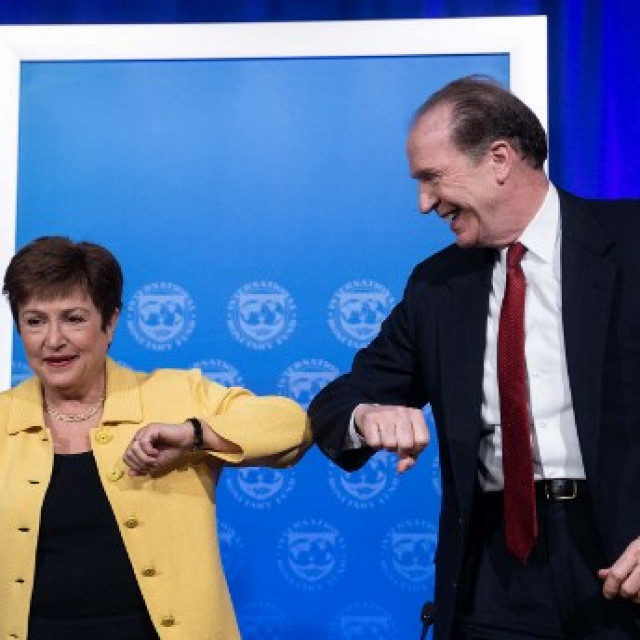 Kristalina Georgieva i David Malpass