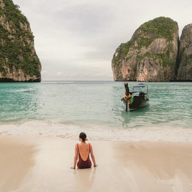 Plaža u zaljevu Maya na kojoj su snimljene najljepše scene iz filma 'Žal'.