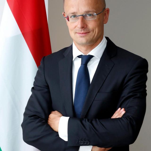 Hungarian minister of foreign affairs and trade Peter Szijjártó