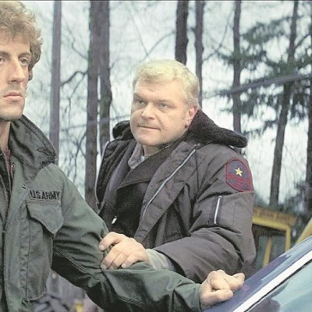 Sylvester Stallone (lijevo) i Brian Dennehy (desno) u filmu 'Rambo'