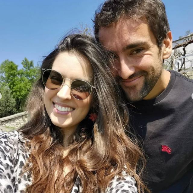 Marin Čilić sa suprugom Kristinom