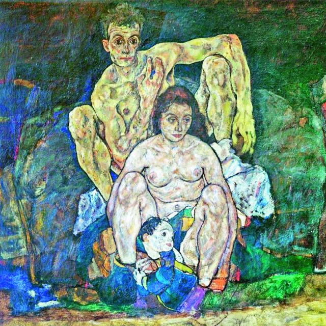 'Obitelj' Egona Schielea
