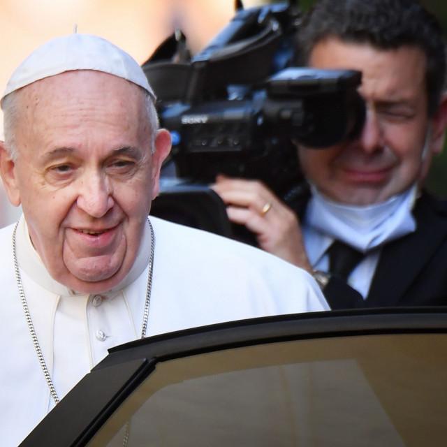 Papa Franjo je poznat po dosjetkama