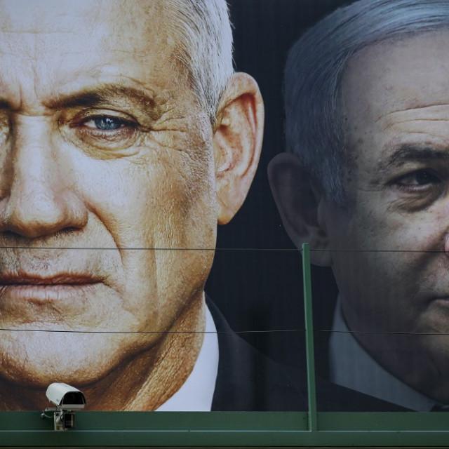 Benny Gantz i Benjamin Netanyahu