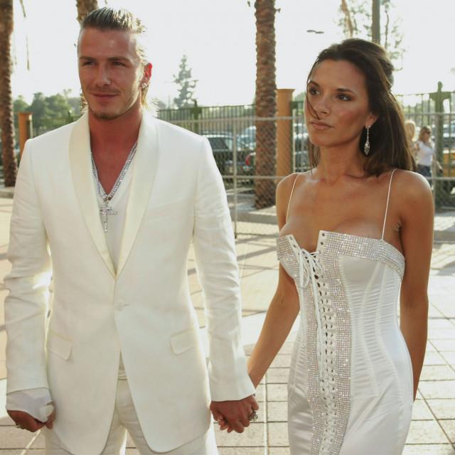 Victoria i David Beckham, 2003. godina