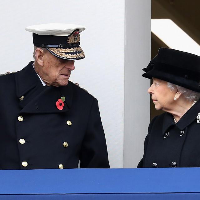 Princ Philip i kraljica Elizabeta II