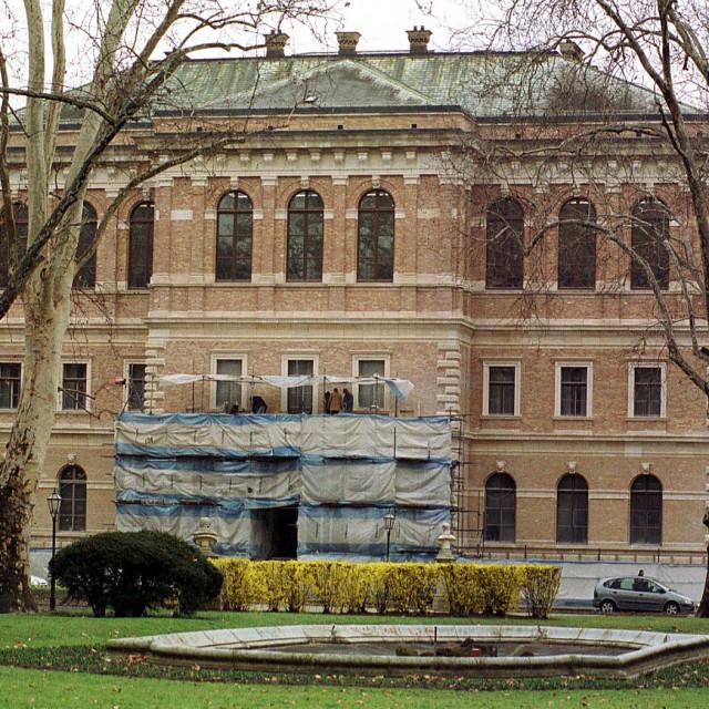 Zgrada HAZU u Zagrebu