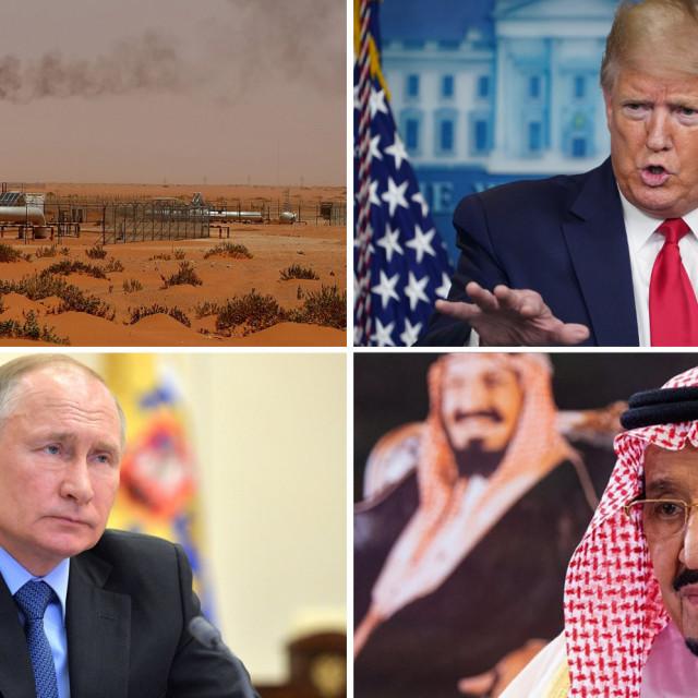Vladimir Putin, Donald Trump, kralj Salman