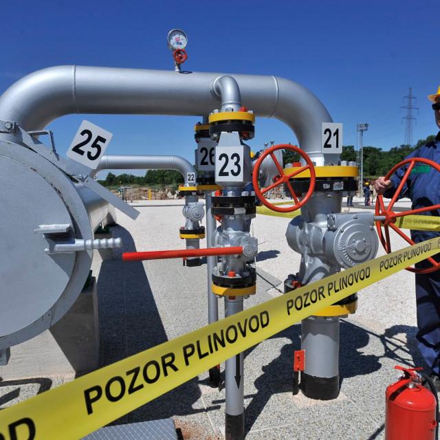 Ilustracija, plinovodni sustav