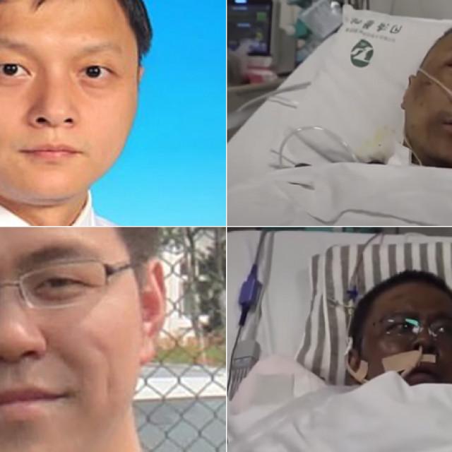 Yi Fan (gore lijevo i desno); Hu Weifeng (dolje lijevo i desno)