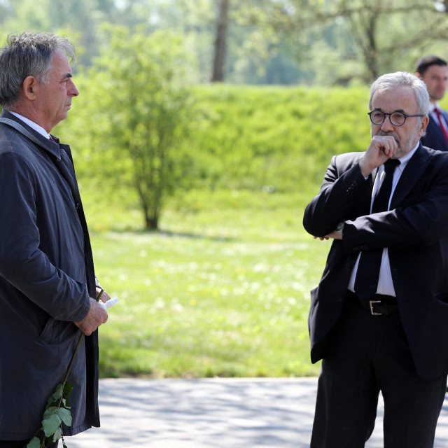 Milorad Pupovac i Ognjen Kraus