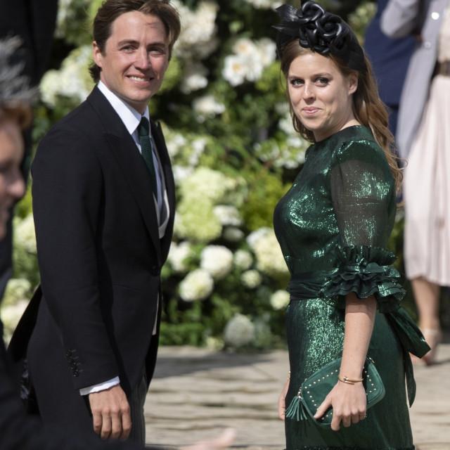 Princeza Beatrice i Edoardo Mapelli