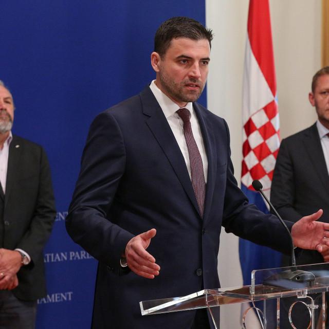Silvano Hrelja, Davor Bernardić i Krešo Beljak