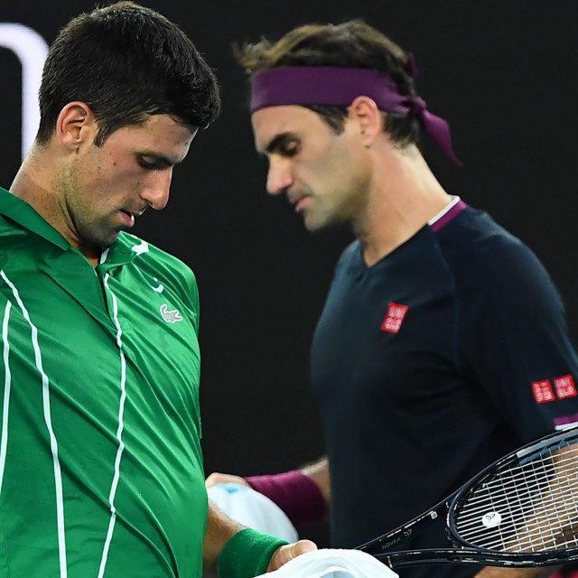 Federer - Đoković