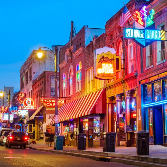 Legendanra ulica Memphisa posvećena glazbi i zabavi