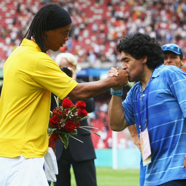 Maradona i Ronaldinho