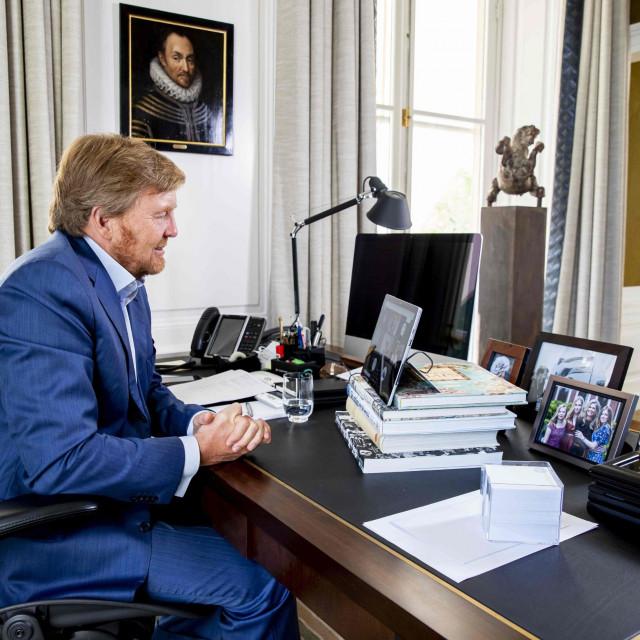 Kralj Willem-Alexander se obratio građanima Nizozemske video vezom