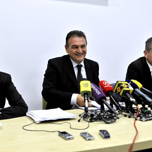 Natalija Martinčević i Radimir Čačić