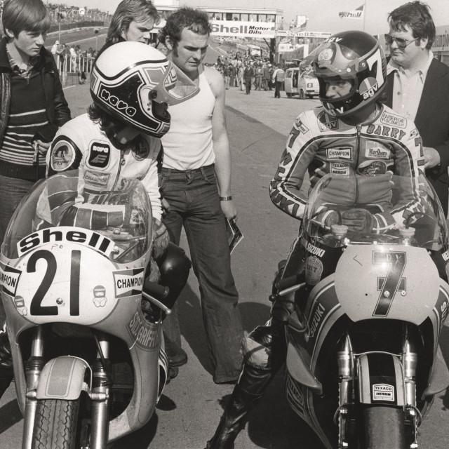 Steve Baker i Barry Sheene