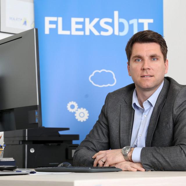 Tomislav Gligora, direktor tvrtke Fleksbit