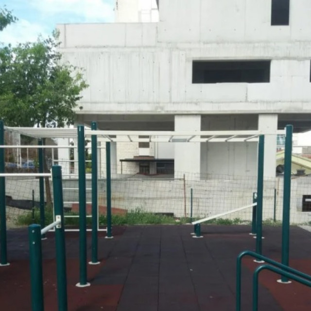 street workout igralište u Mosećkoj ulici u Splitu