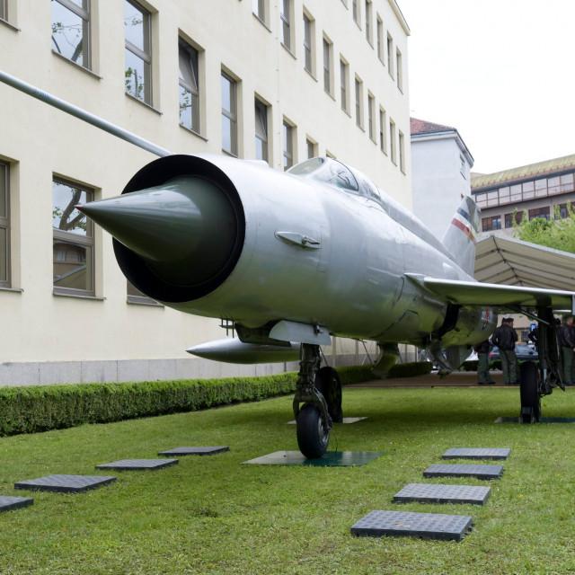 MiG 21 Rudolf Perešina