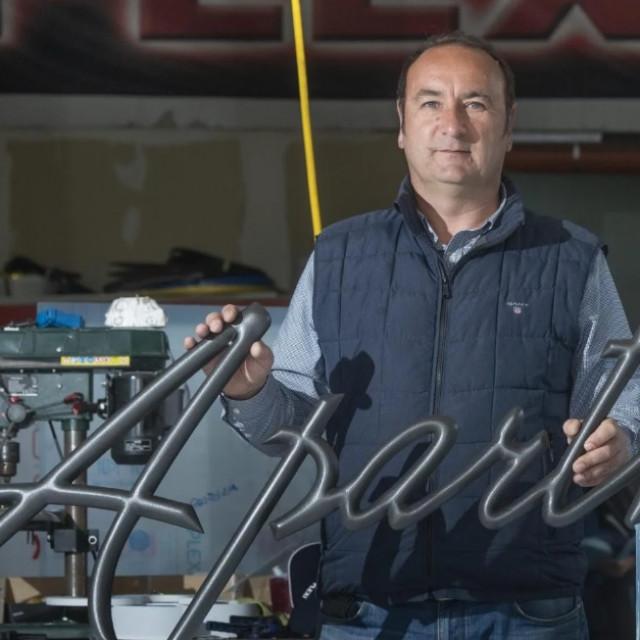 Zoran Ralević, vlasnik tvrtke 'Plexi'