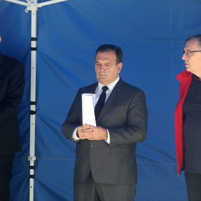 Davor Božinović, Vili Beroš, Krunoslav Capak